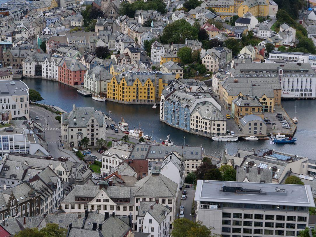 Zoom sur le centre ville