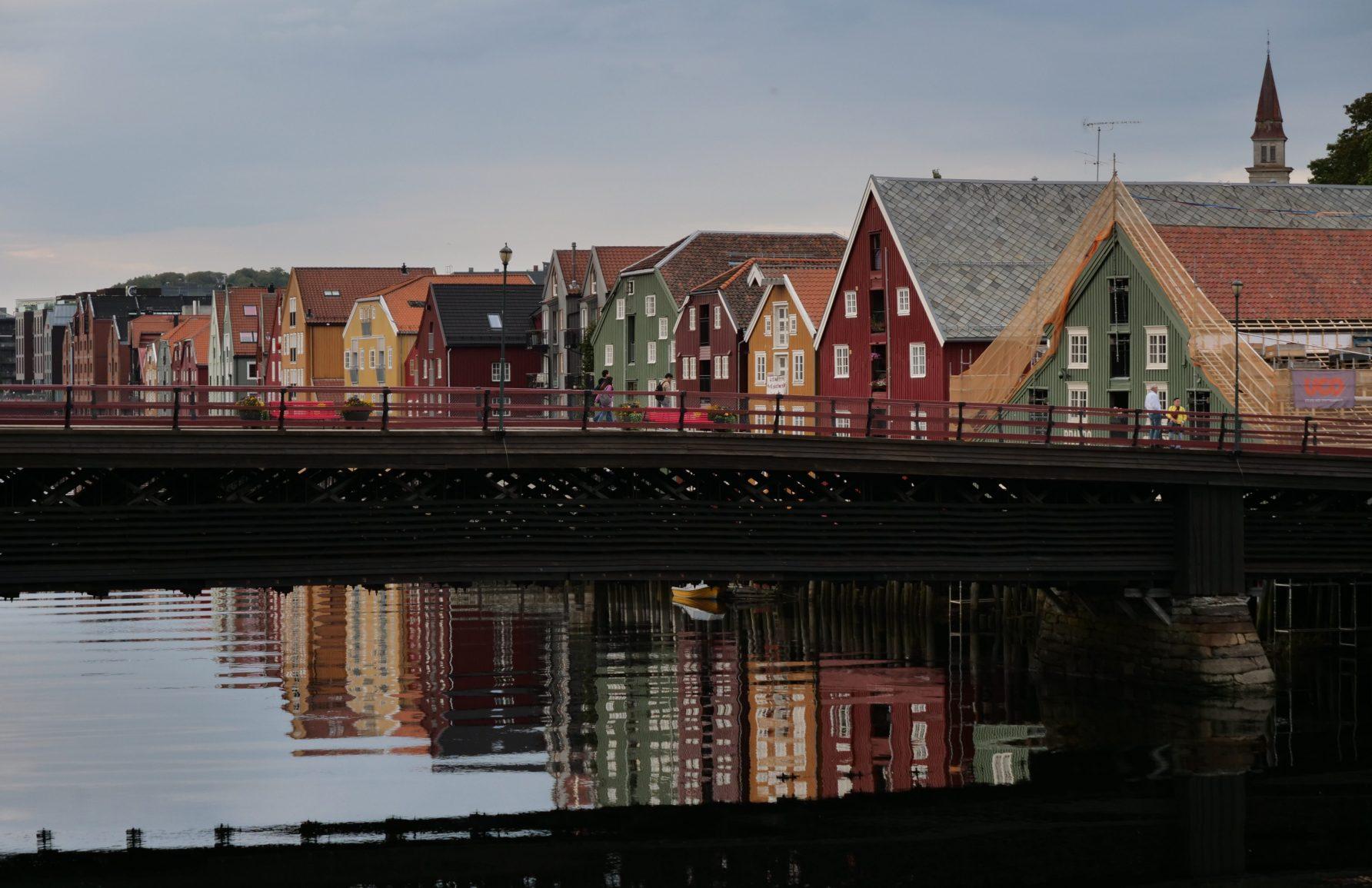 La Norvège dans le centre ville du pays