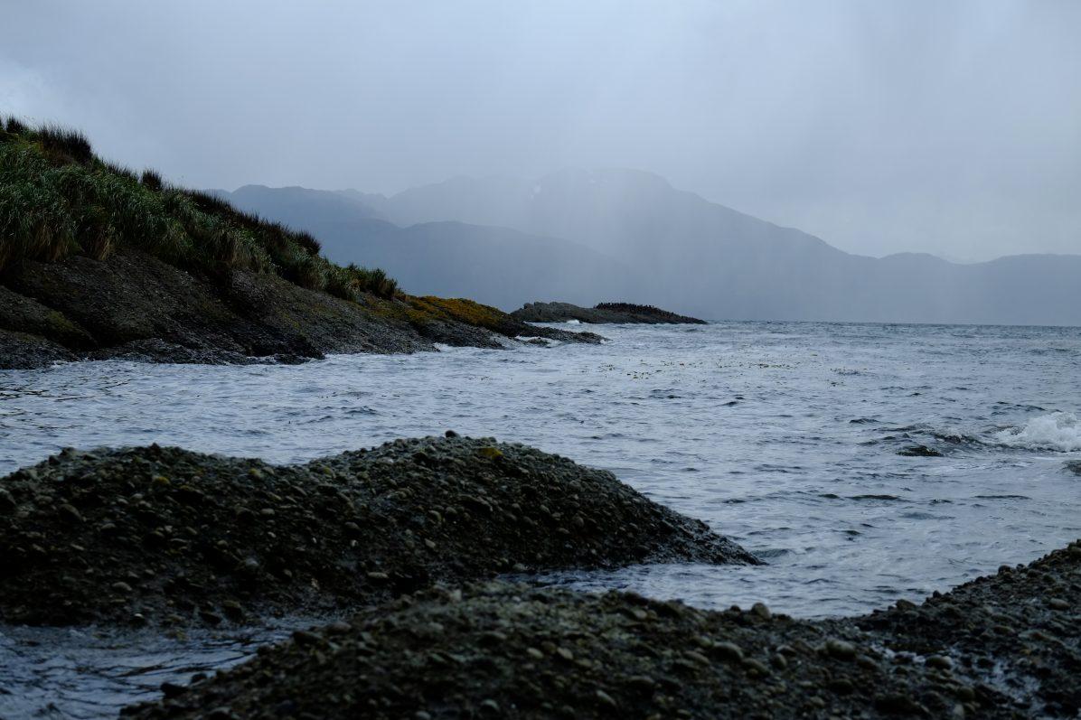 Les côtes de Patagonie vers les îlots Tucker