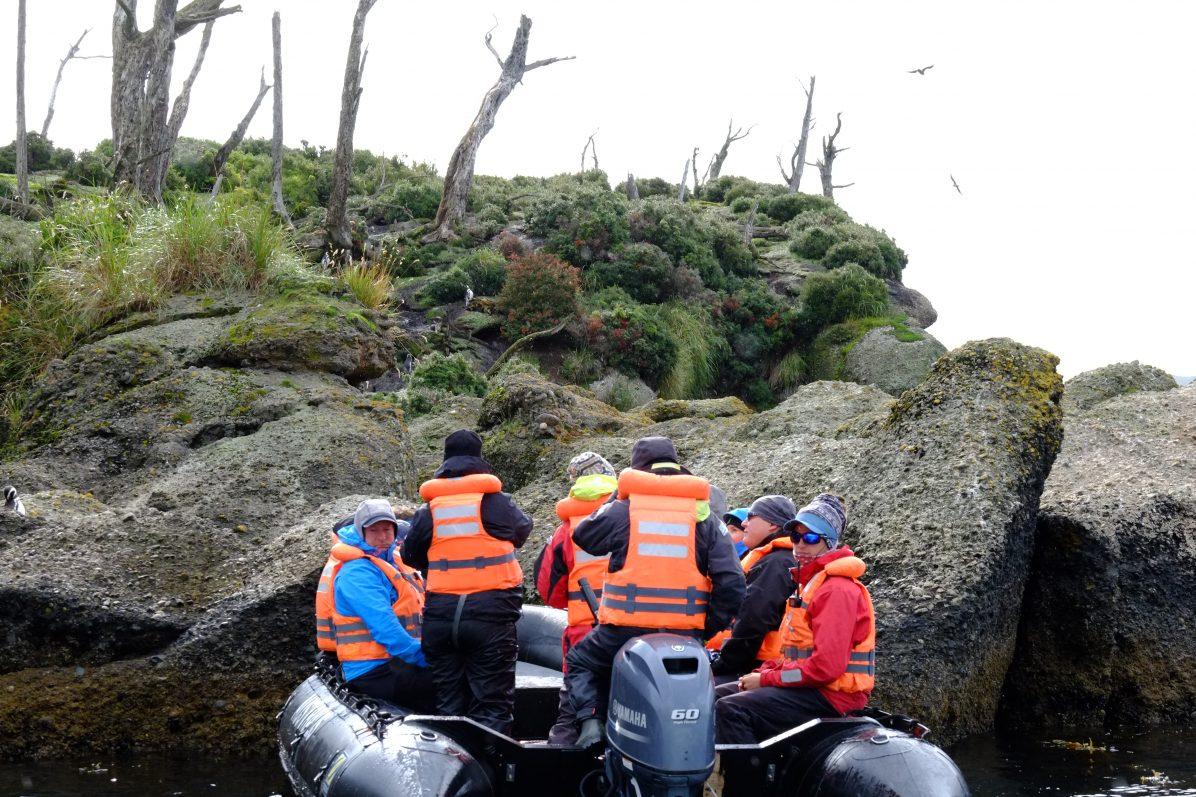 Exploration avec l'équipage du Stella Australis