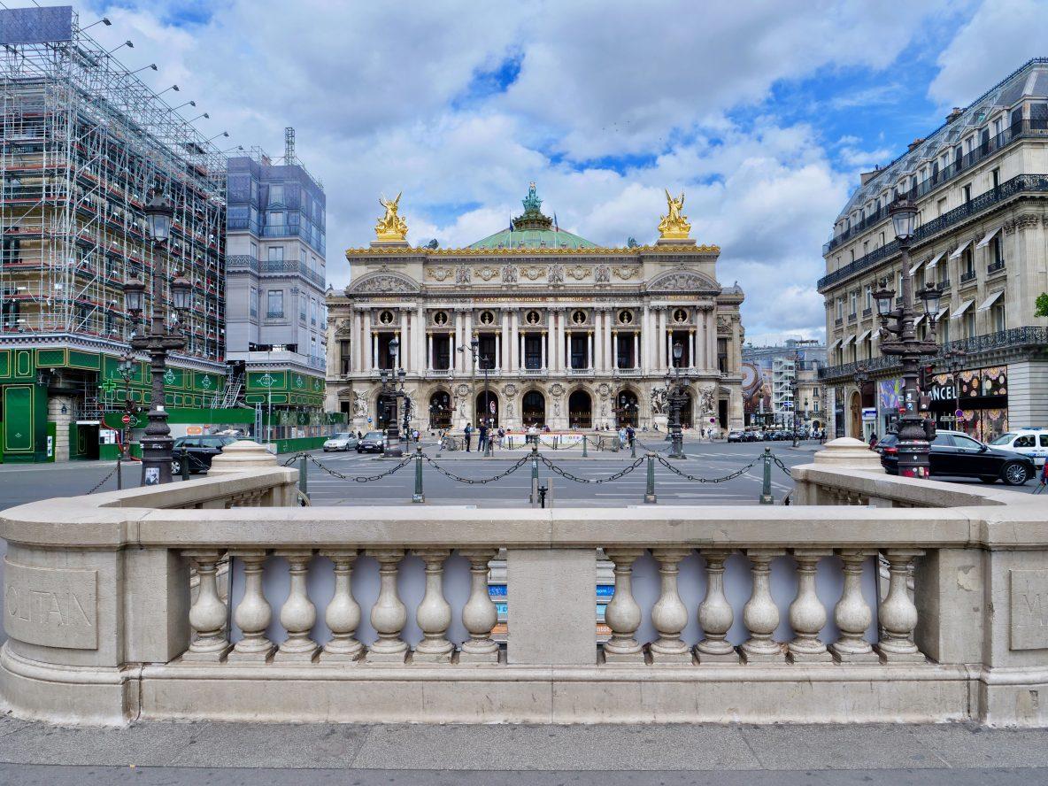 L'opéra Garnier, l'un des plus beaux monuments de Paris