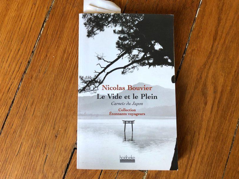 Un beau livre de Nicolas Bouvier