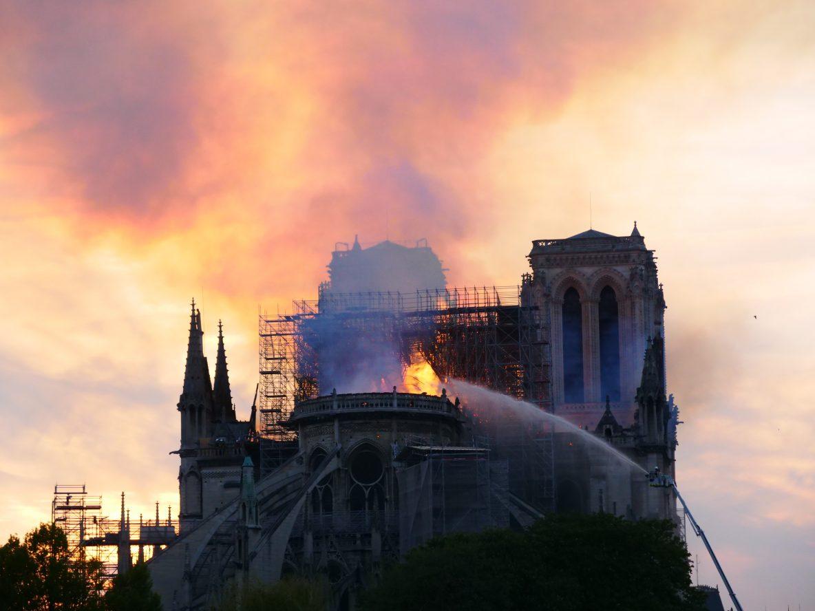 Notre Dame de Paris était l'un des plus beaux monuments de Paris