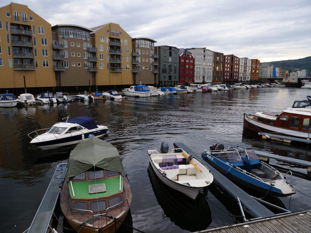 Escale à Trondheim