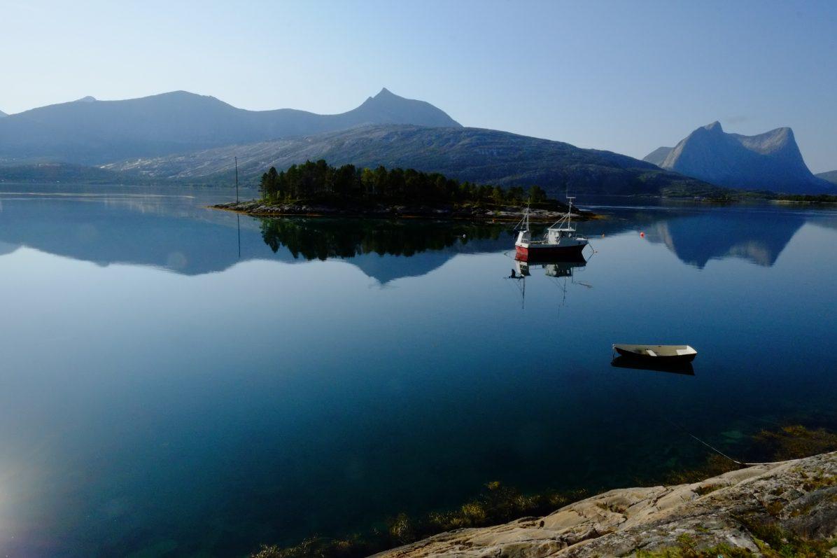 Dans le nord de la Norvège non loin de Narvik