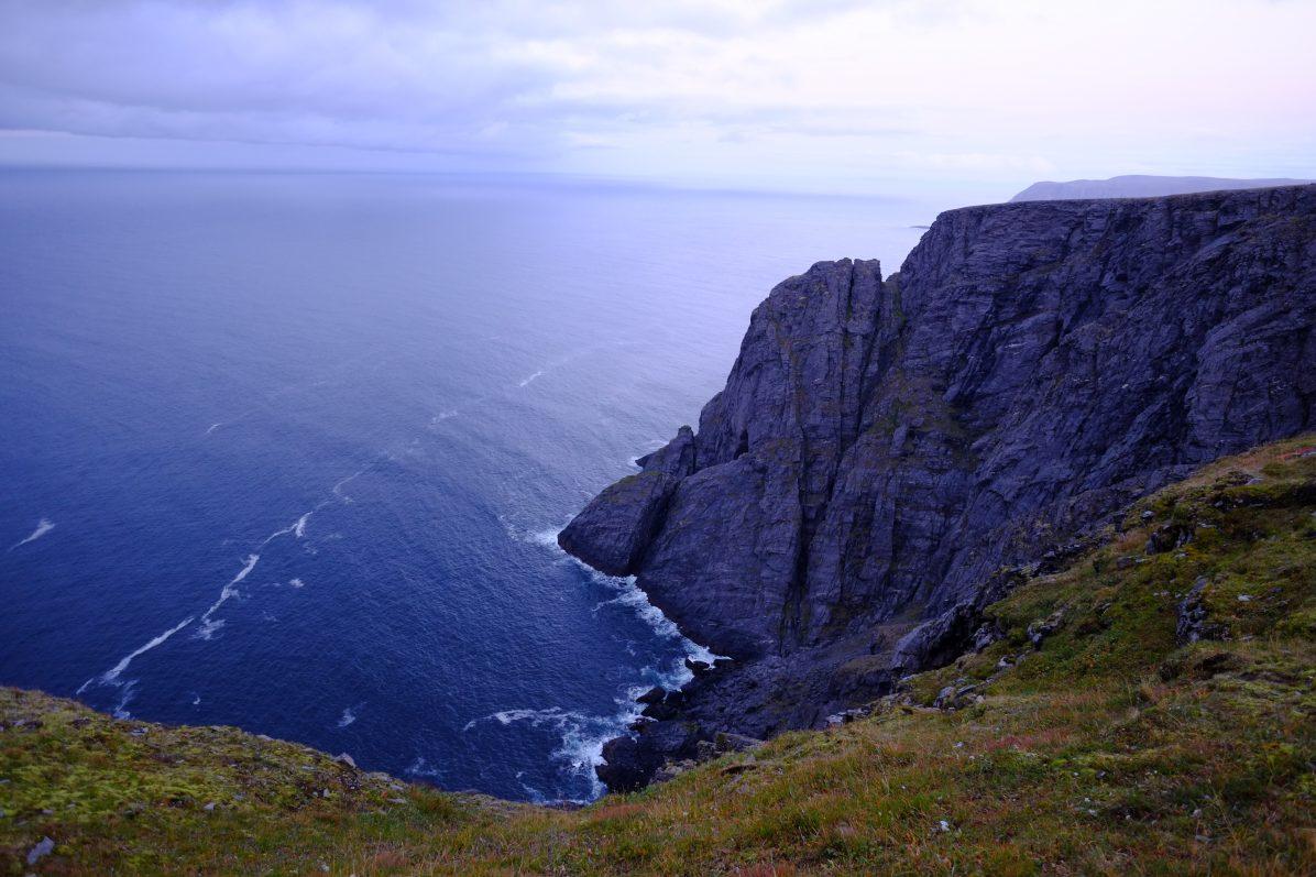 Nordkapp au nord de la Norvège