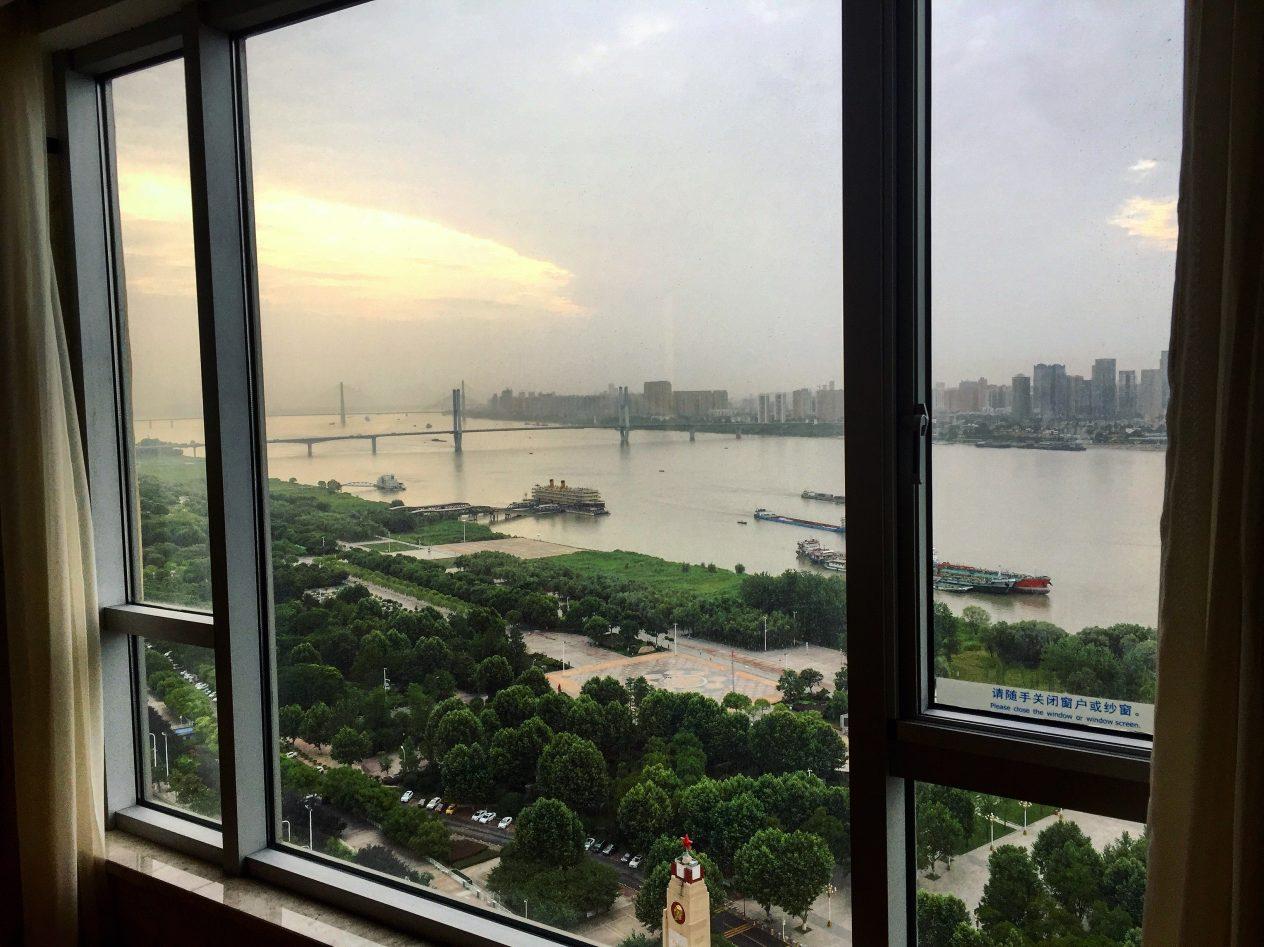 Wuhan, une vue imprenable sur le Yangtse