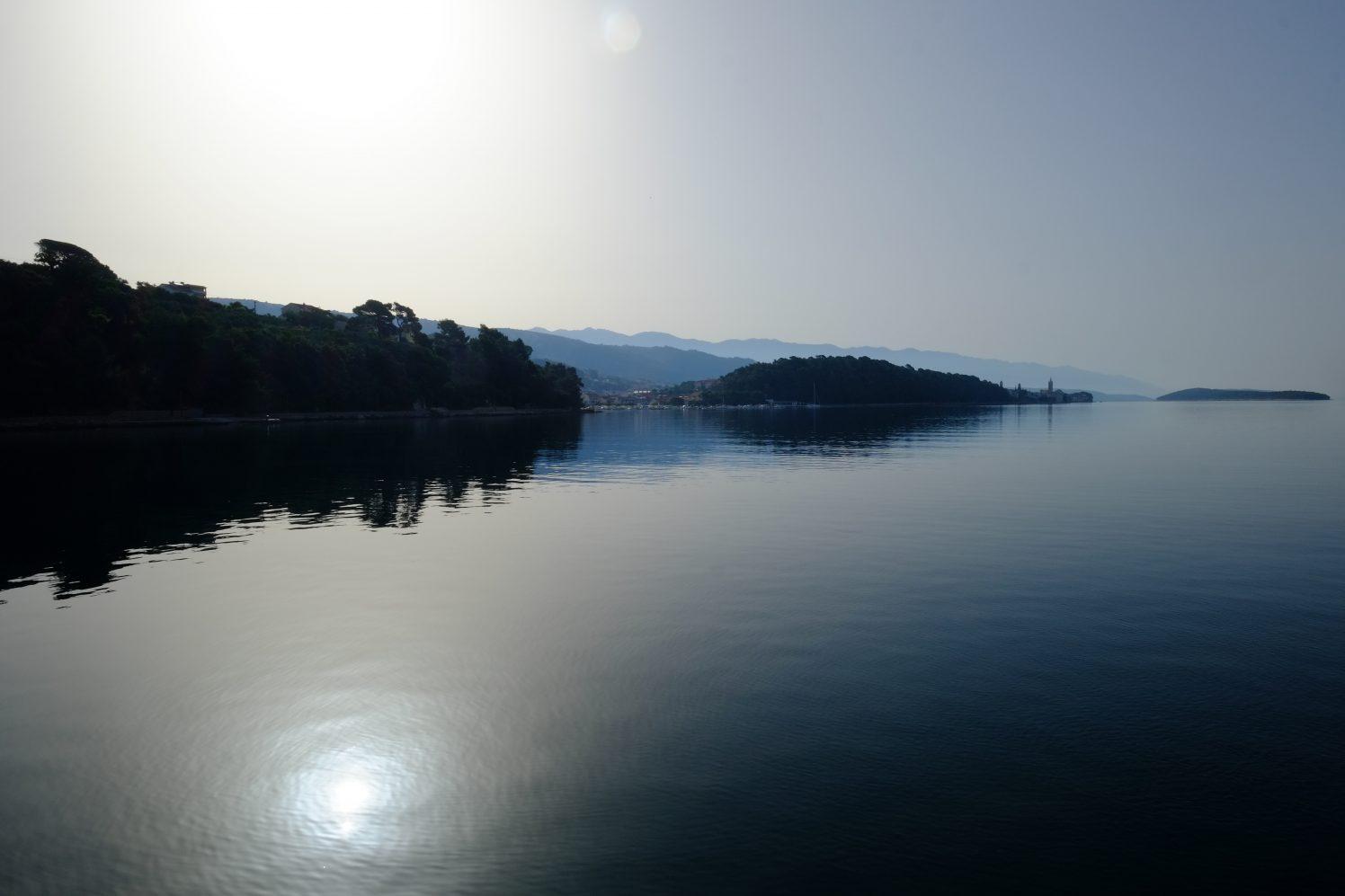 L'île de Rab, en Dalmatie du Nord
