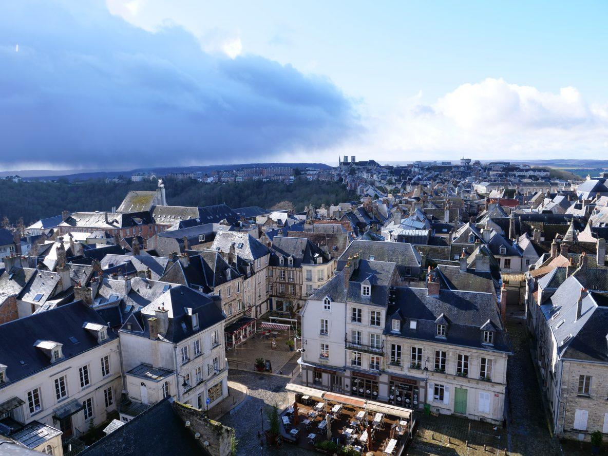 La densité urbaine de la ville de Laon