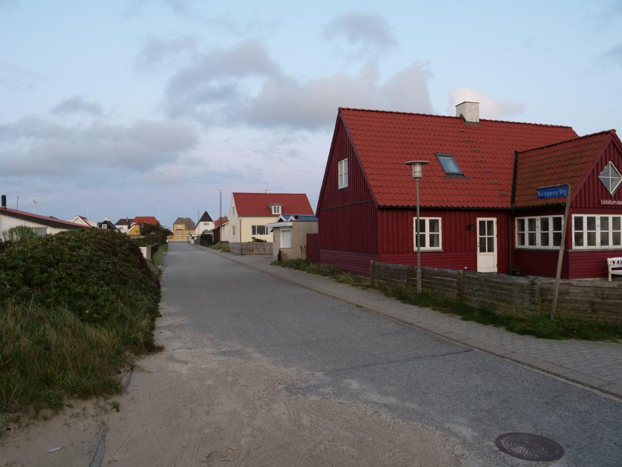 Lokken une petite ville du Danemark