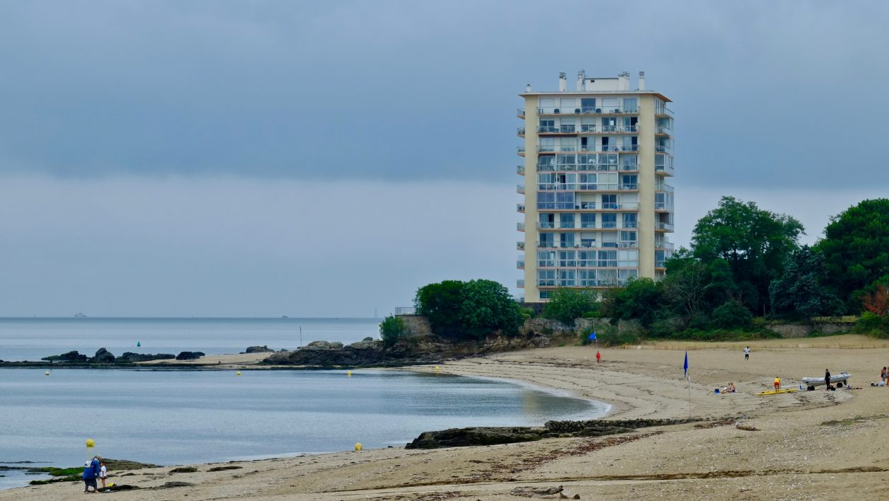 Une plage à Saint-Nazaire