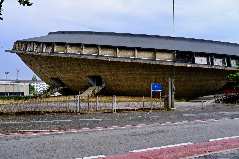 Un bâtiment insolite à Saint-Nazaire