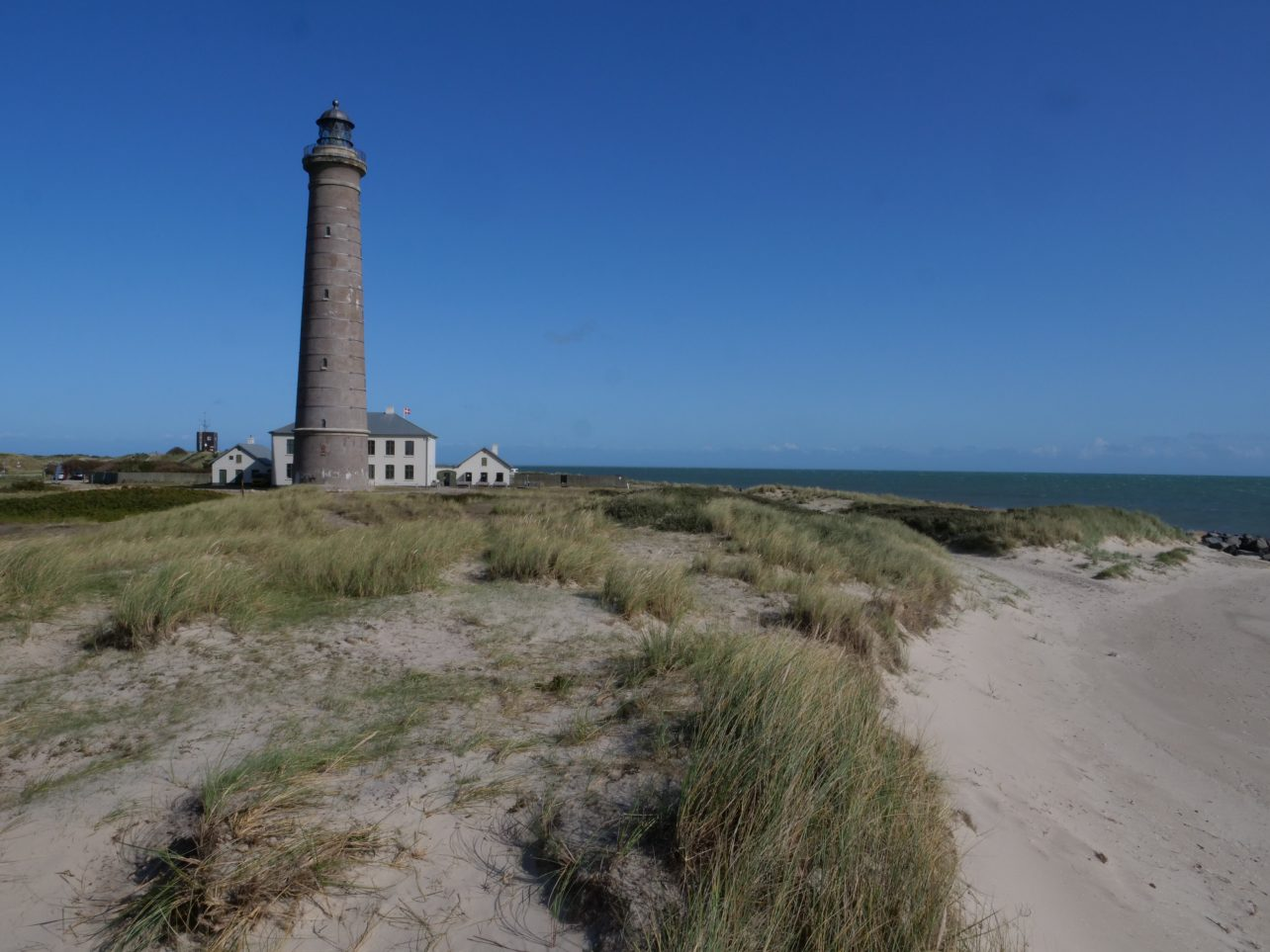 Un phare tout au nord du pays