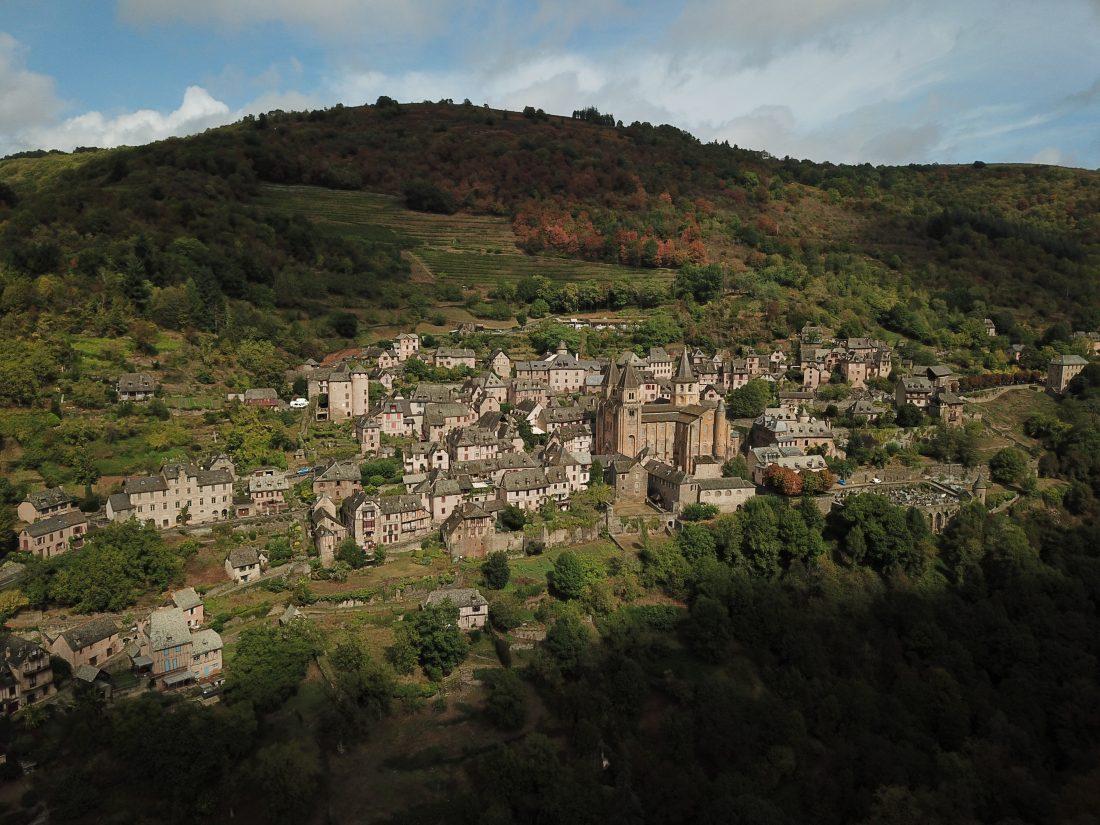 Un rayon de soleil sur l'un des plus beaux villages de France