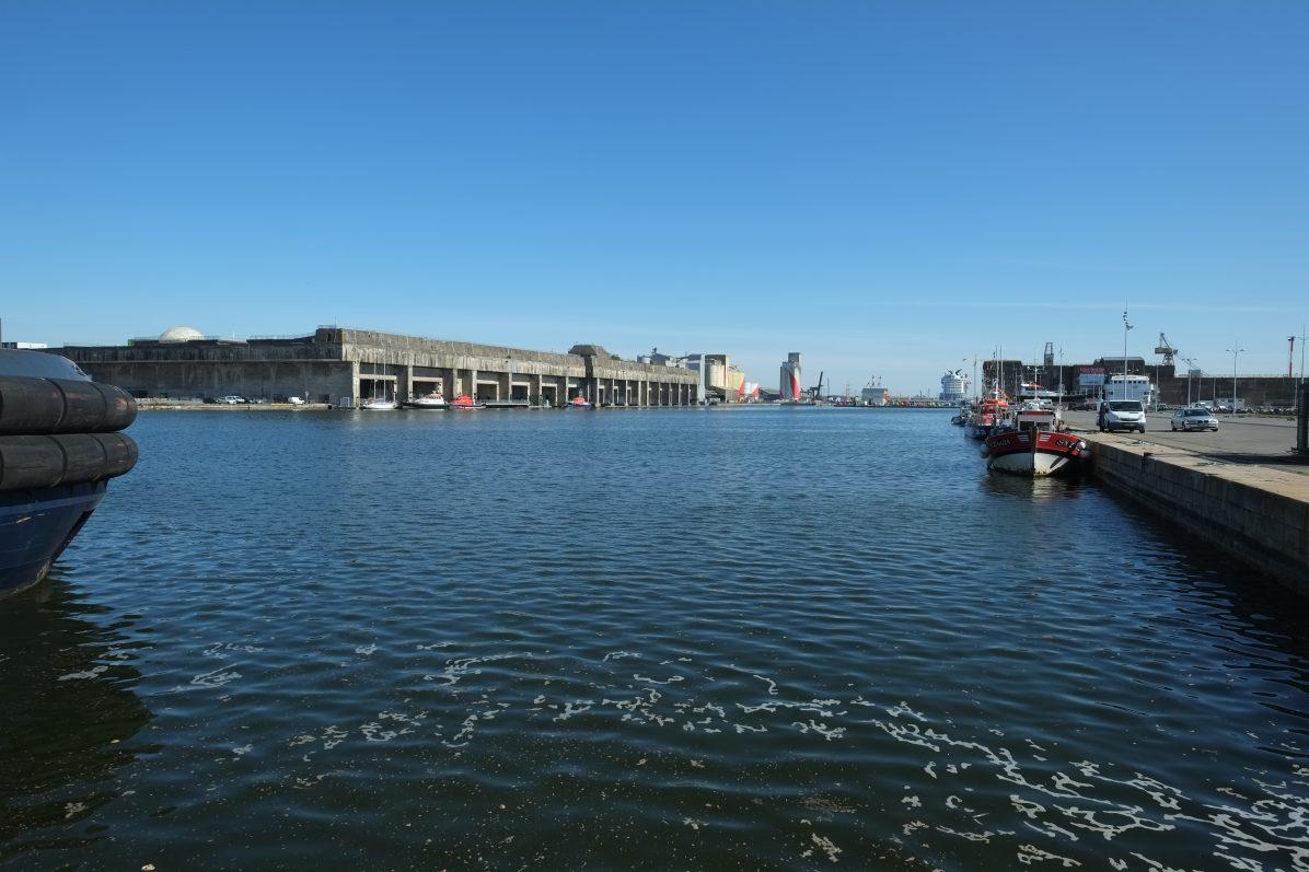 Découvrir la base des sous-marins de Saint-Nazaire