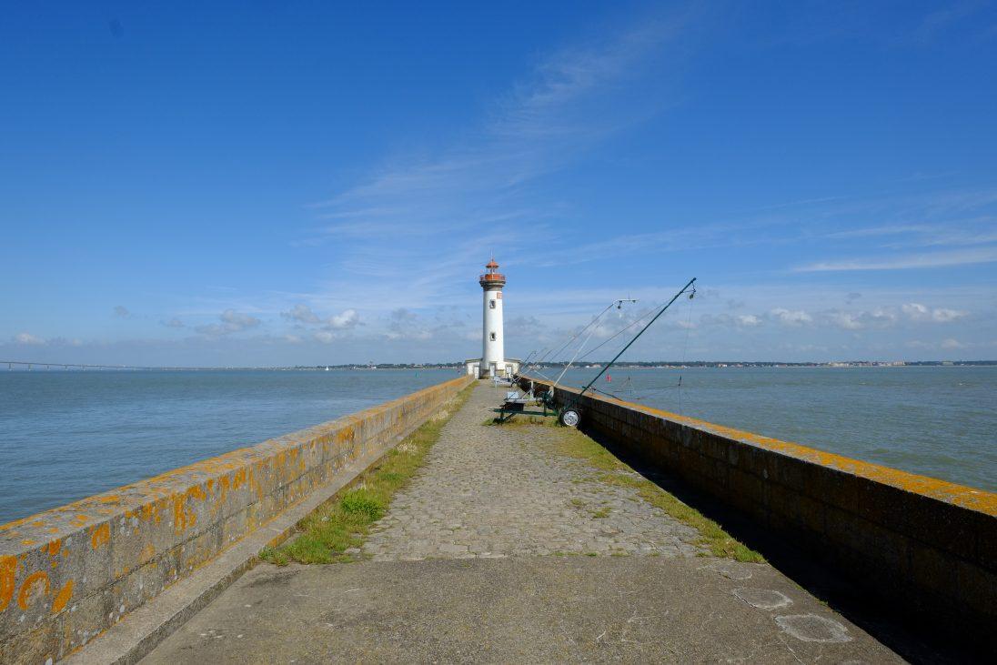 Un phare au bord de la Loire