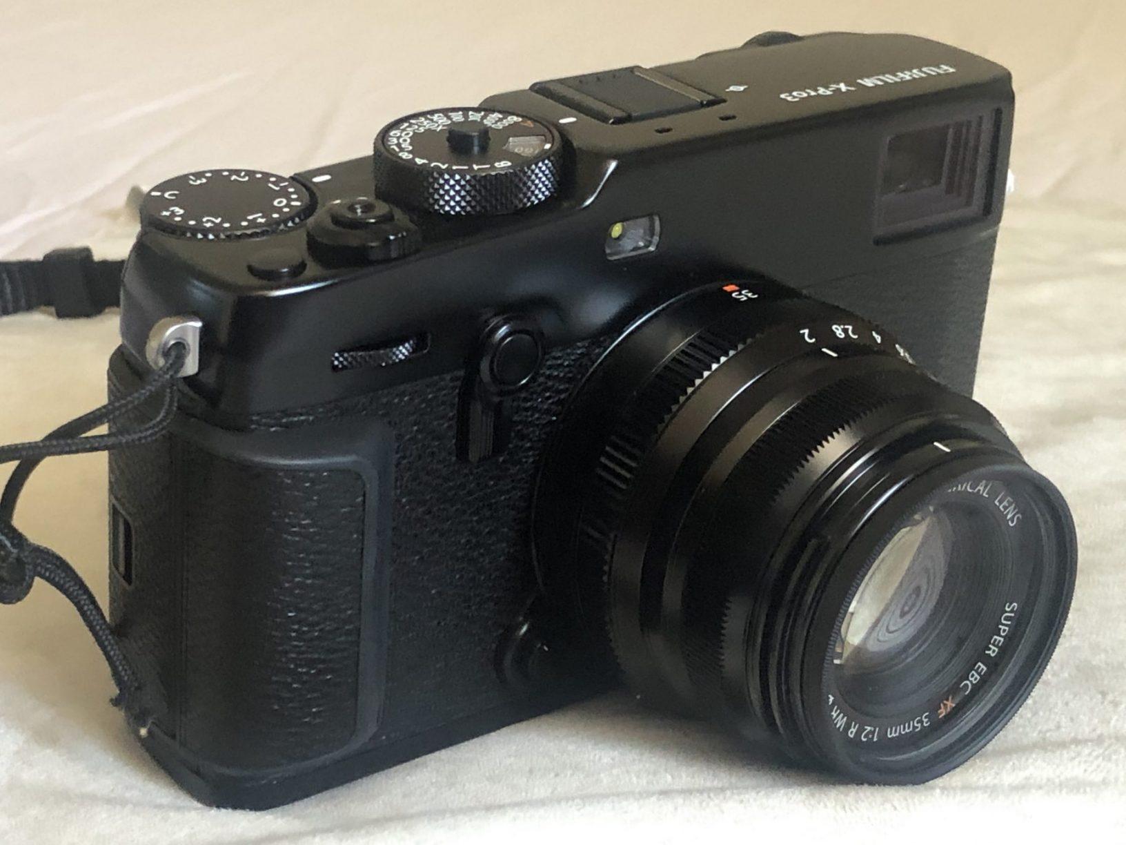 Le superbe X-Pro 3 avec le 35 mm eq 53 mm