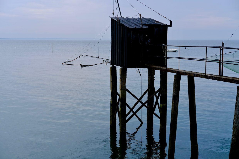 Une pêcherie sur les bords de Loire