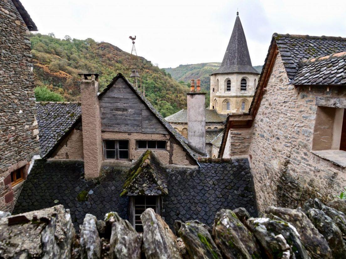 Conques, un village sur le chemin de Compostelle
