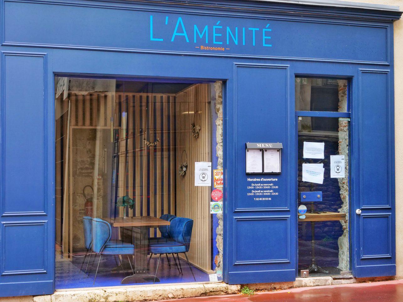 Un restaurant dans le quartier Bouffay