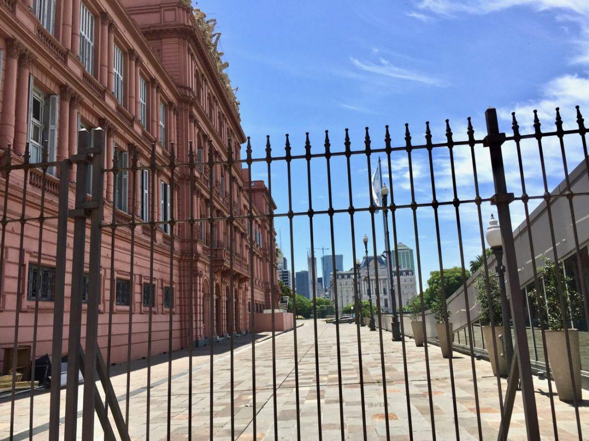 le siège du pouvoir en Argentine