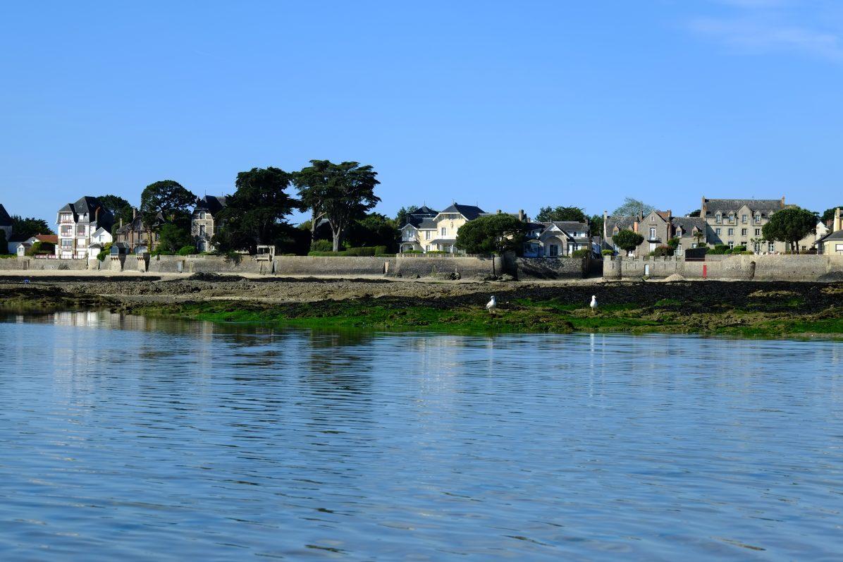 Le Pouliguen et ses villas en bord de mer