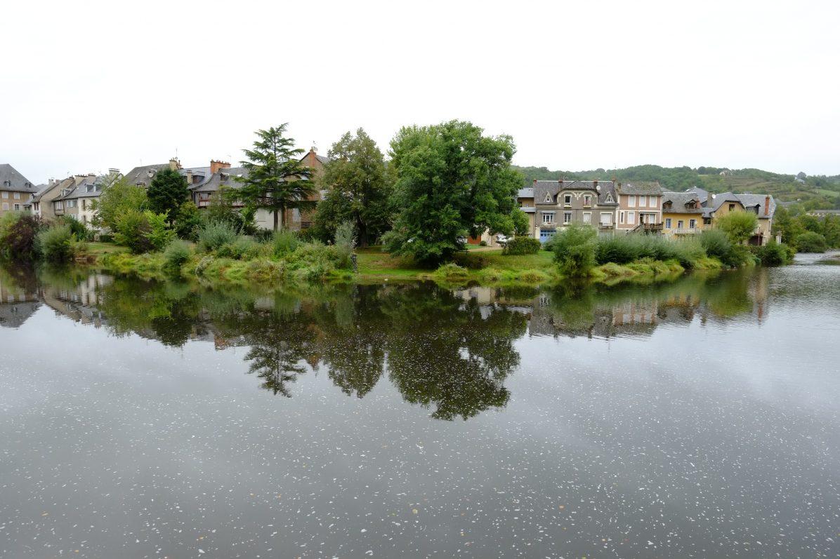 Dans la vallée du Lot, Espalion en Aveyron