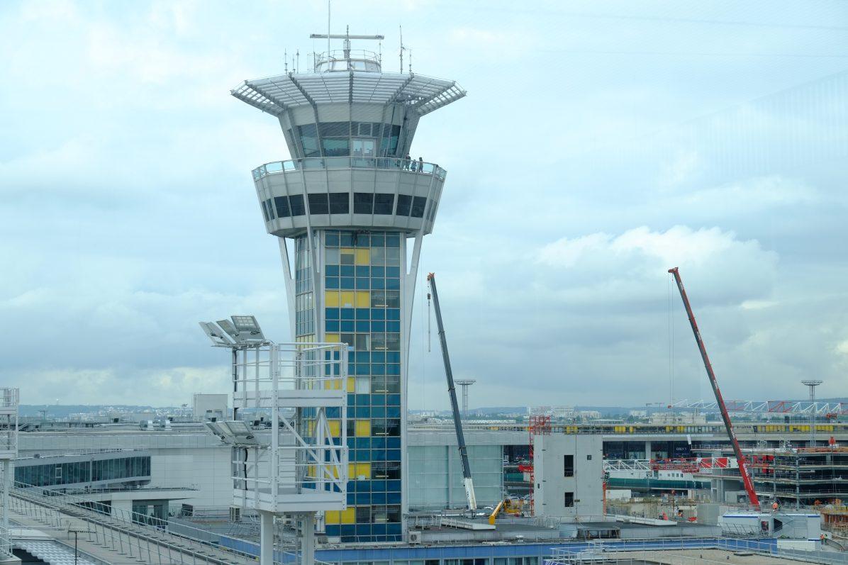 La tour de contrôle d'Orly