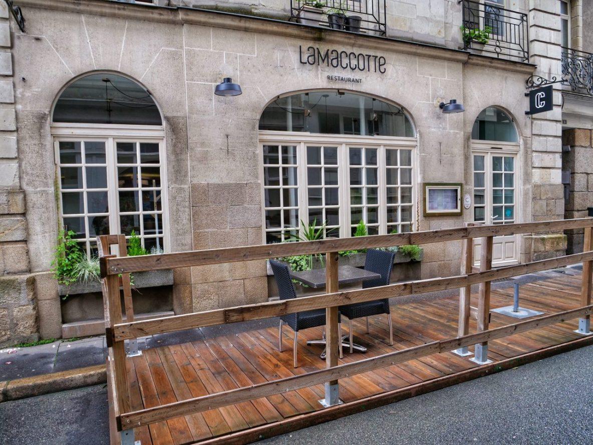 Lamaccotte un restaurant où manger à Nantes
