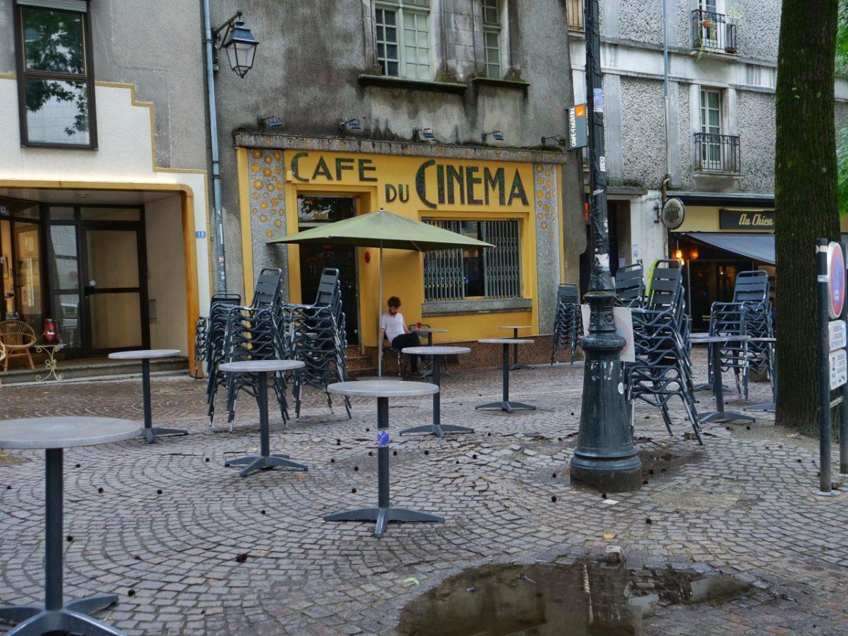 Le café du Cinéma à Nantes