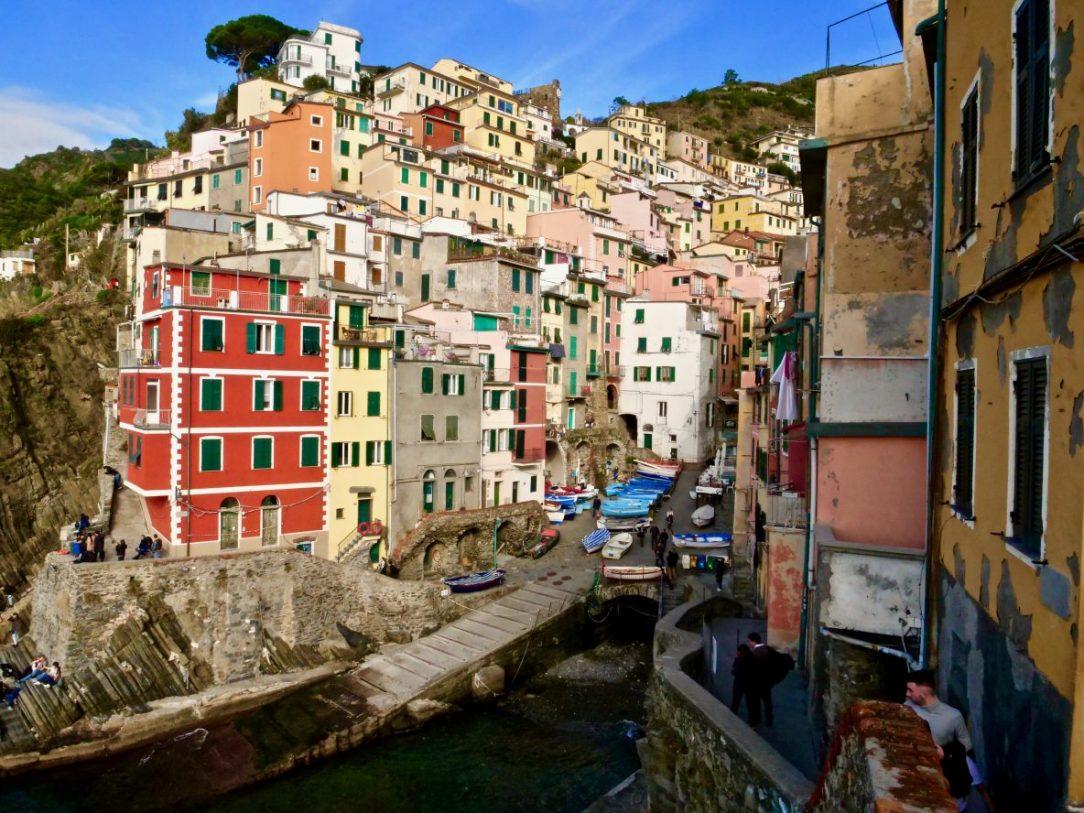 L'un des petits villages de Cinque Terre