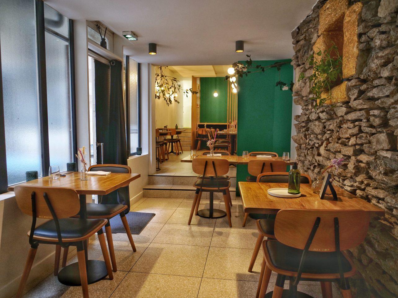 Le restaurant Sources, rue des Carmes à Nantes