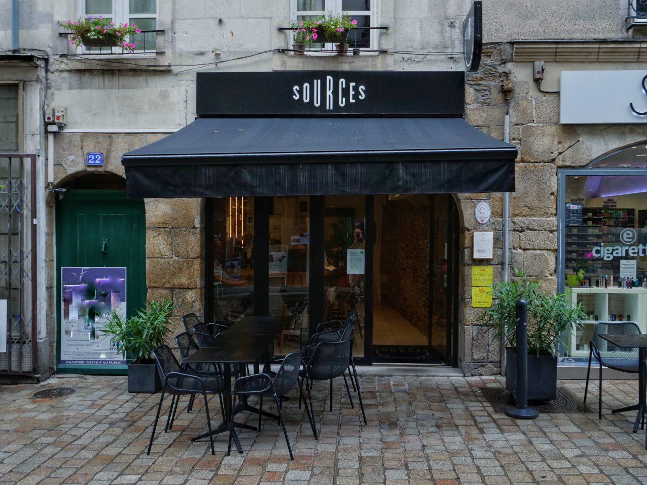 Sources un restaurant à Nantes
