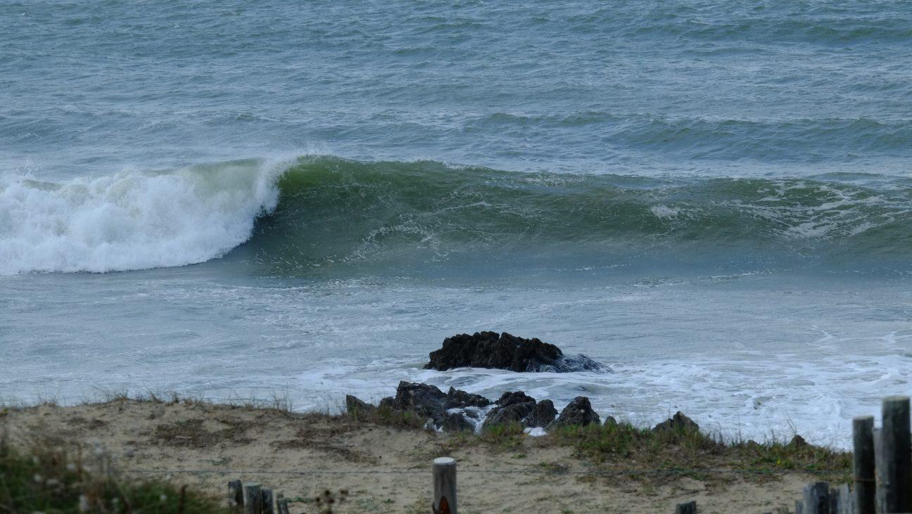 Une vague rapide et tubulaire à la Govelle