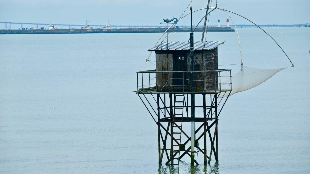 La pêche au carrelet, la spécialité de l'embouchure de la Loire