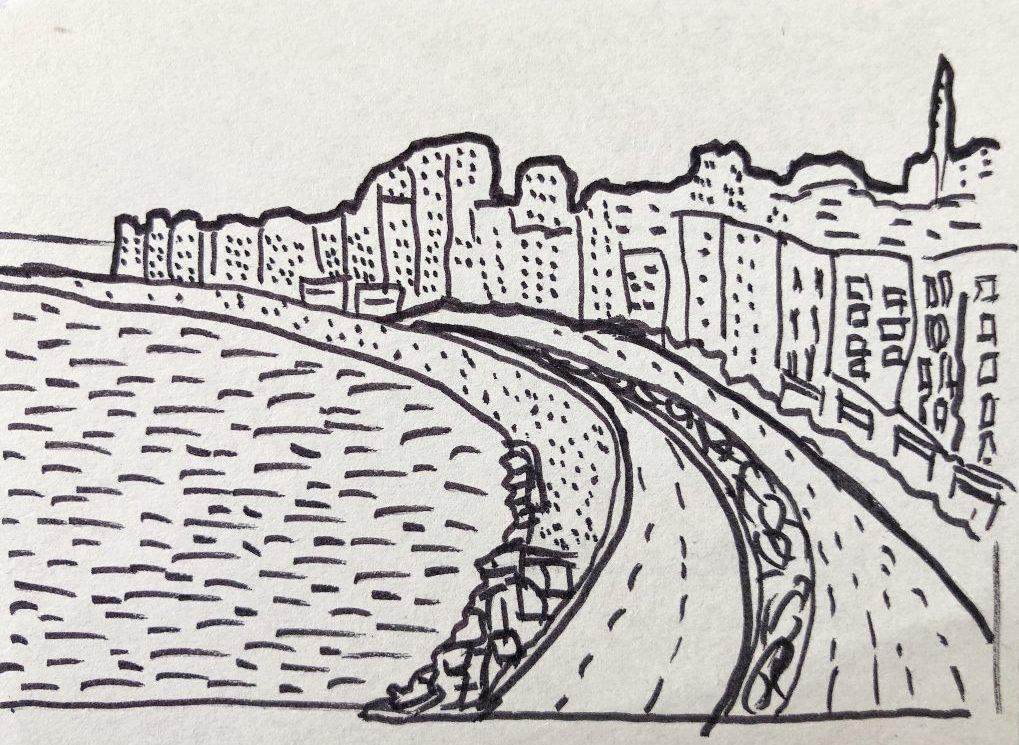 La baie de la ville d'Alexandrie