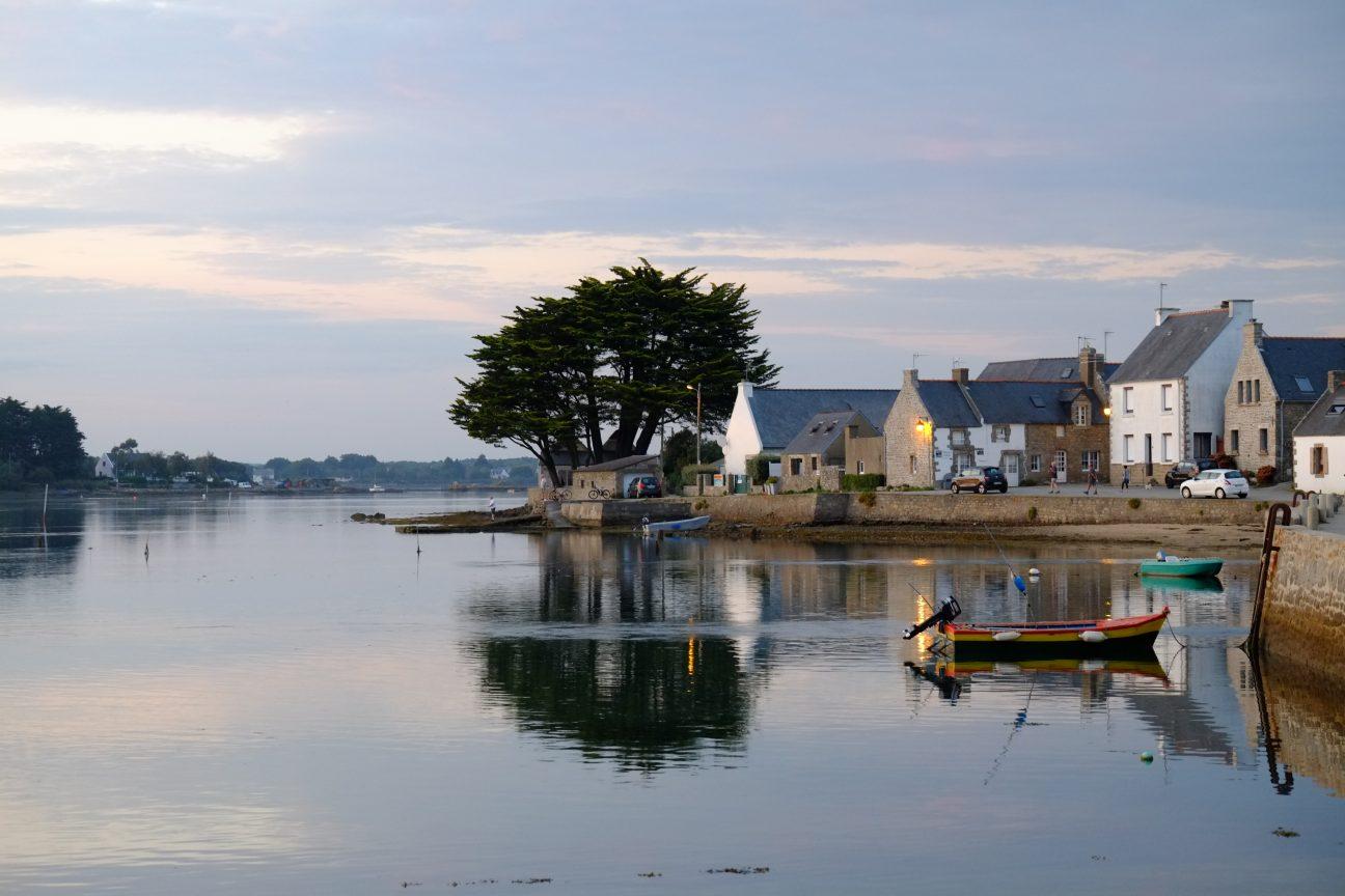 La ria d'Etel dans le Morbihan