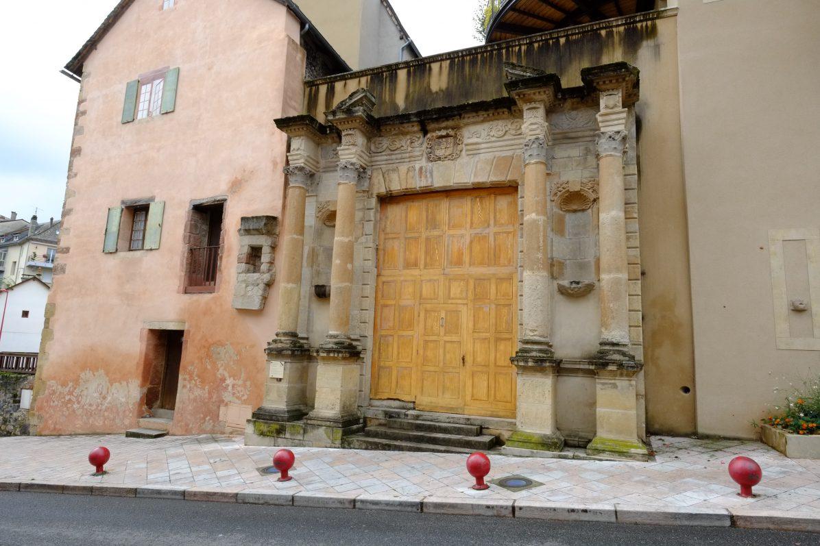 L'architecture insolite et intrigante d'Espalion