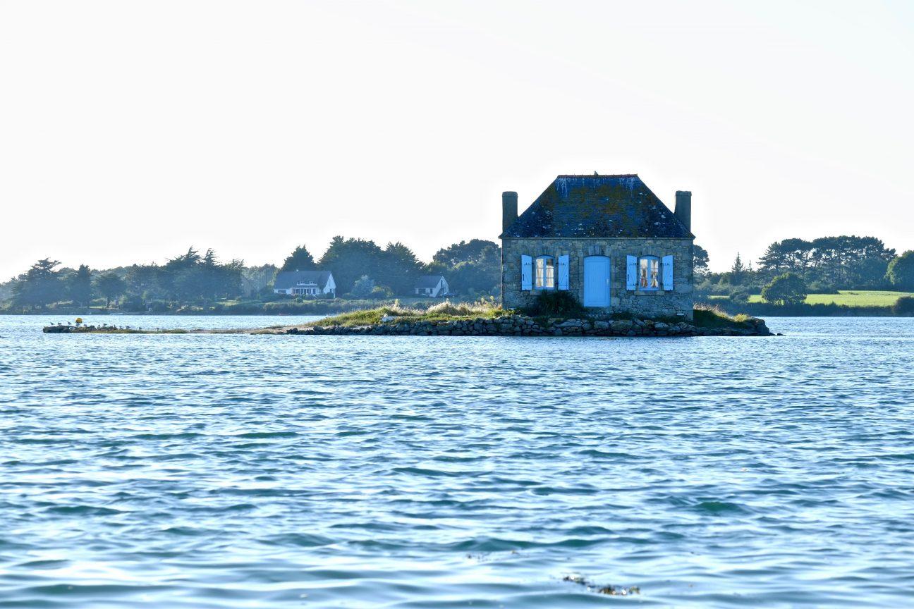 L'île de Saint-Cado à Belz