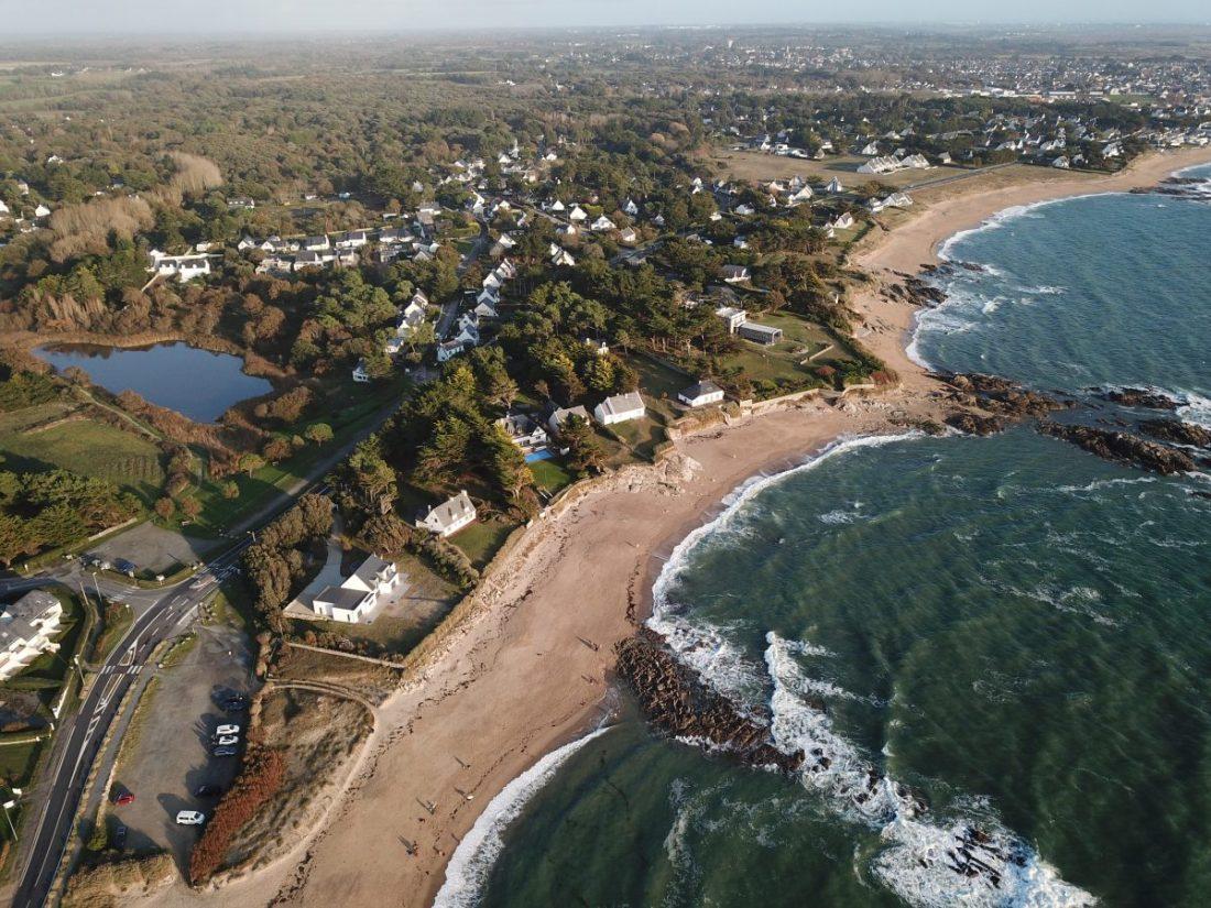 La plage Belmont à la Turballe