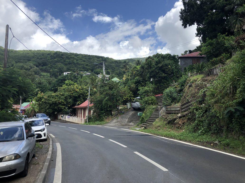 La route côtière à Bouillante