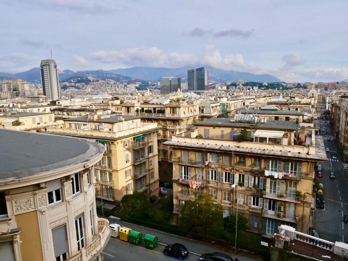 L'une des plus belles vues panoramiques sur Gênes