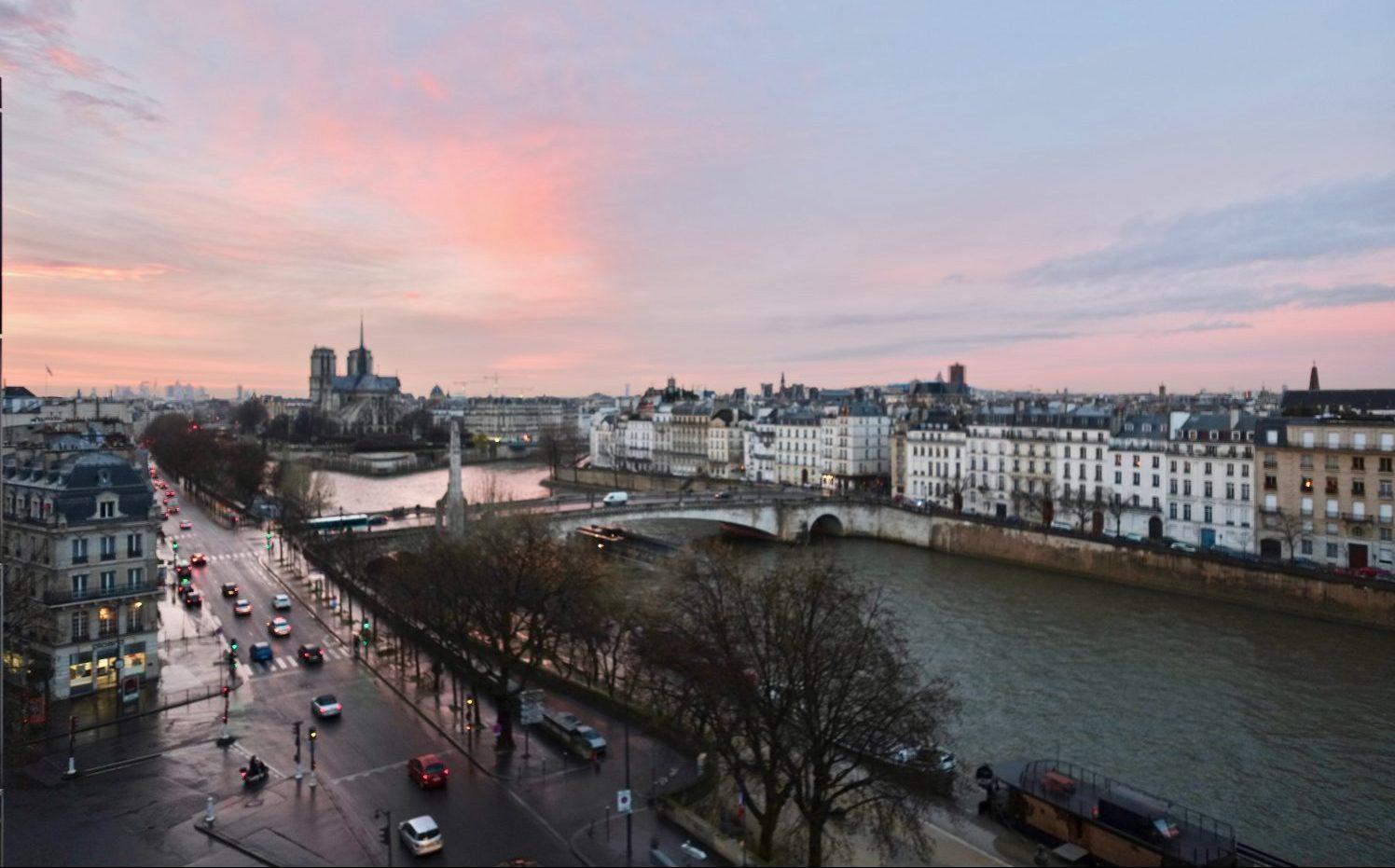 Une des plus jolie vue sur la Seine