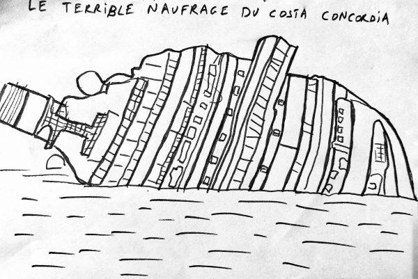 l'histoire d'un naufrage italien