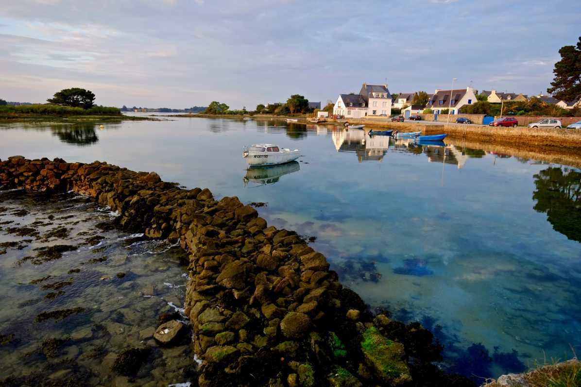 La rivière d'Etel dans le Morbihan