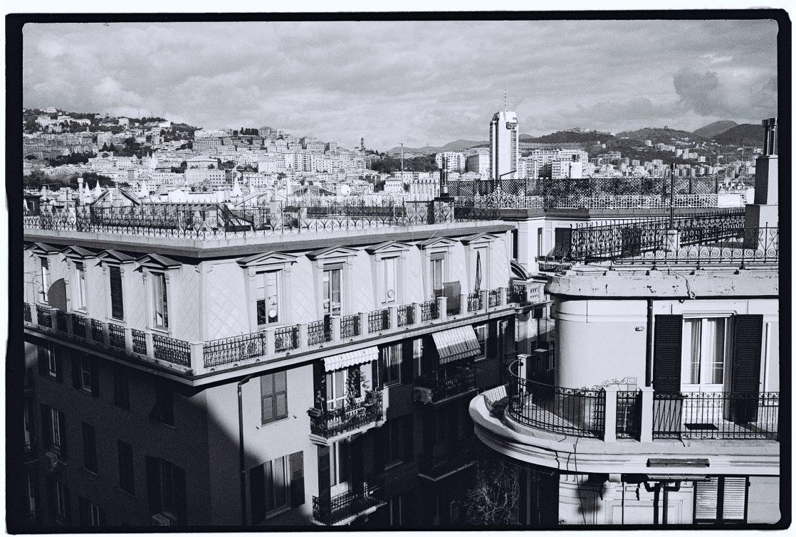 Gênes en noir et blanc et au Leica M6
