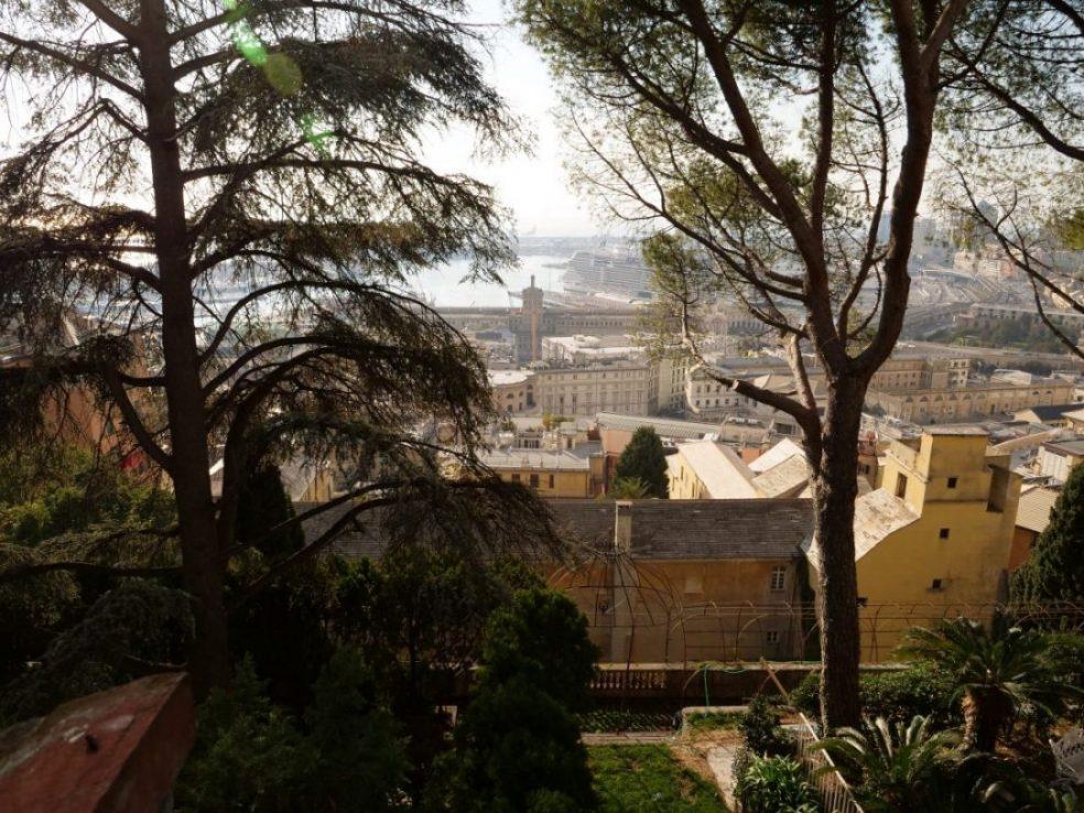 L'une des plus belles vues panoramiques de Gênes