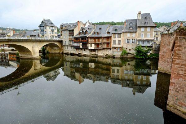 Espalion en Aveyron et au coeur de la vallée du Lot