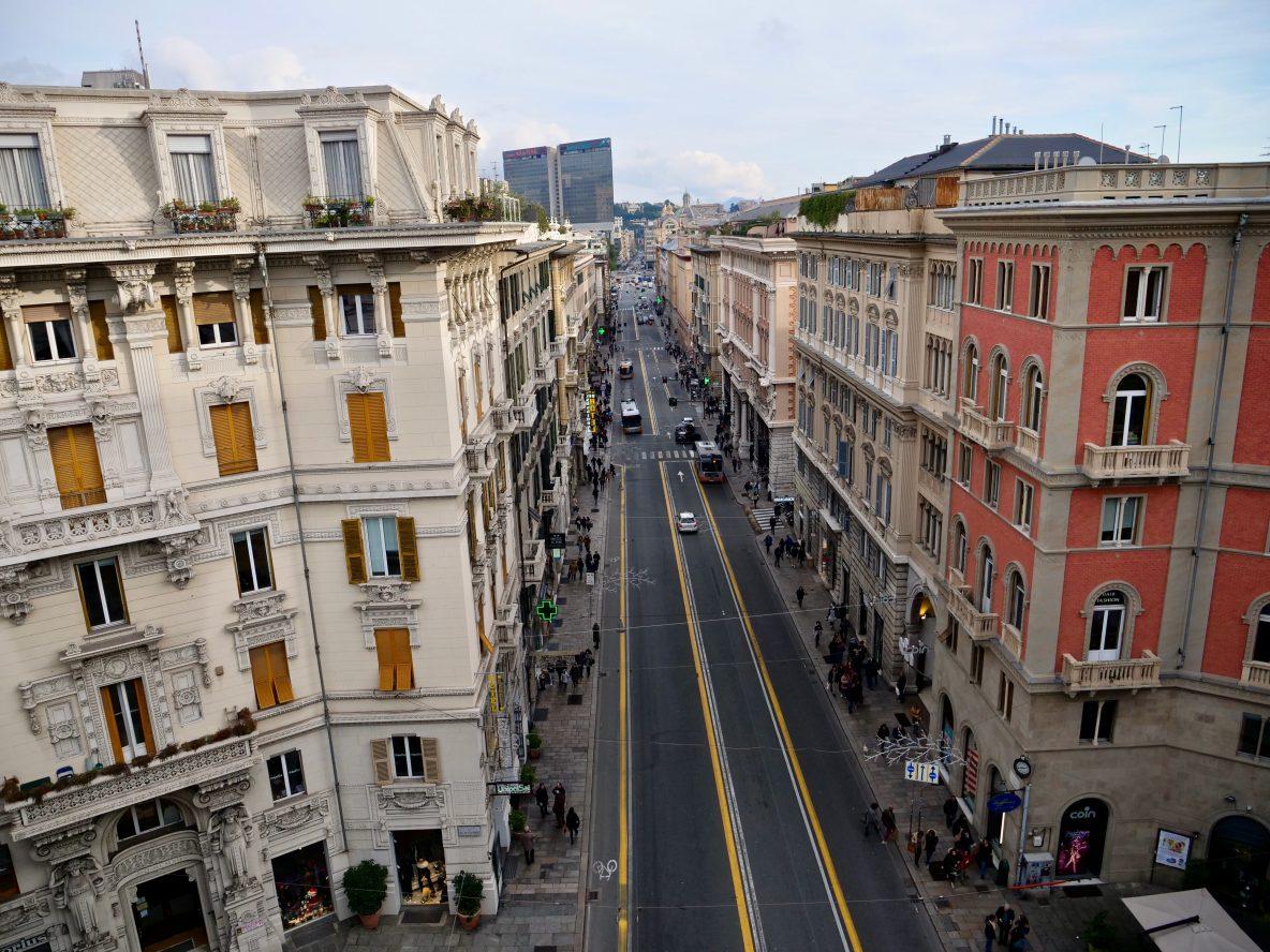 Une jolie vue sur Gênes