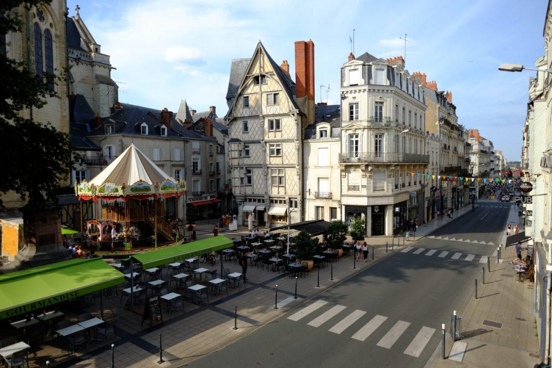 Angers l'une belles plus belles villes de France